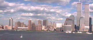 World Trade Center from Jersey City